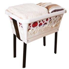w schekorb mit beinen. Black Bedroom Furniture Sets. Home Design Ideas